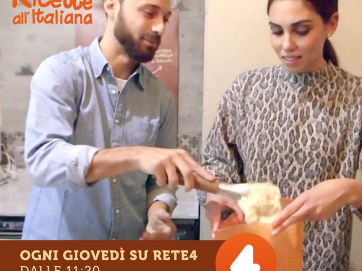 """OGGI su """"Ricette all'italiana"""" Rete4"""